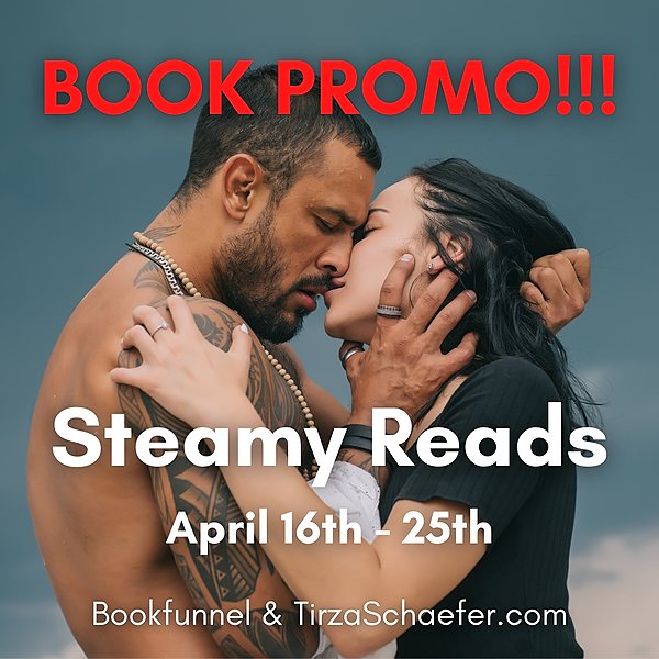 STEAMY READS Book Promotion 16-30 April
