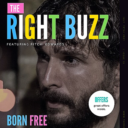 Ritchi Edwards The Right Buzz Online Magazine Issue 13 Link Thumbnail | Linktree