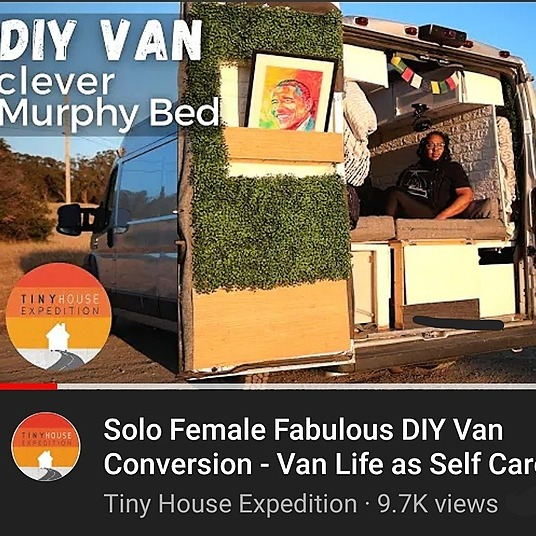 @Rolling_Resilience Van Tour with Tiny House Expedition Link Thumbnail | Linktree