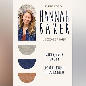 @HCmusic Senior Recital: Hannah Baker '21, mezzo-soprano - May 9th - 5:00pm Link Thumbnail   Linktree