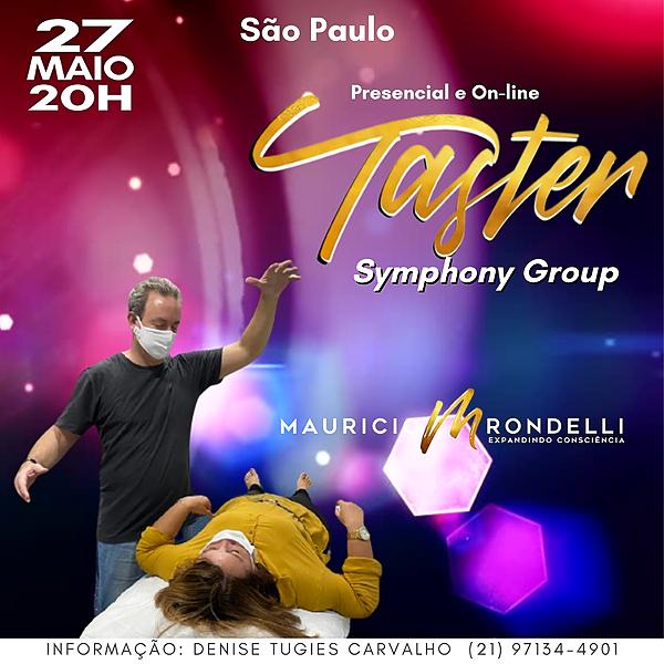 Symphony Group Taster- em São Paulo- Presencial e Online- 27/05 - 20h