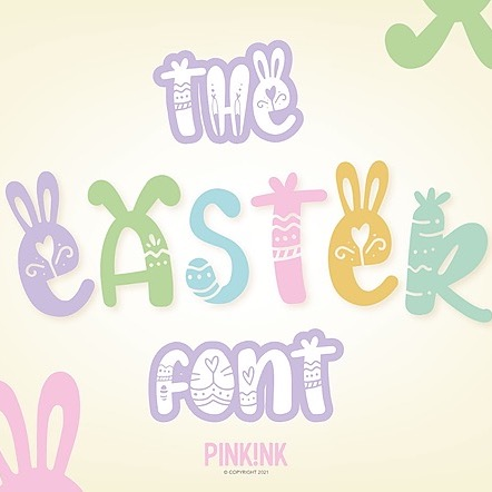 The Easter Font