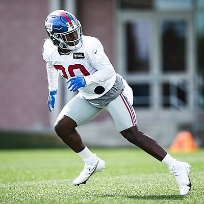 Giants Country Darnay Holmes, CB - 2021 Giants Training Camp Preview (Photo by Giants.com) Link Thumbnail   Linktree