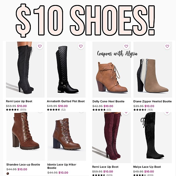 @couponswithalysia $10 SHOES! Link Thumbnail | Linktree