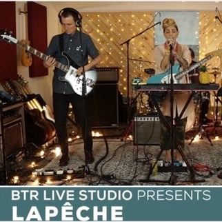 """Video: """"Elbow Grease"""" by LAPÊCHE - BTR Live Studio [ep988] (Previously unreleased performance taken from """"Blood In The Water"""" Record Release Celebration)"""