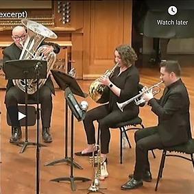 Joel Brennan | Trumpet YouTube Link Thumbnail | Linktree