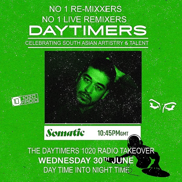 @somatic.somatic 'Return to Rave' Guestmix - Daytimers 1020 Radio Takeover Link Thumbnail | Linktree