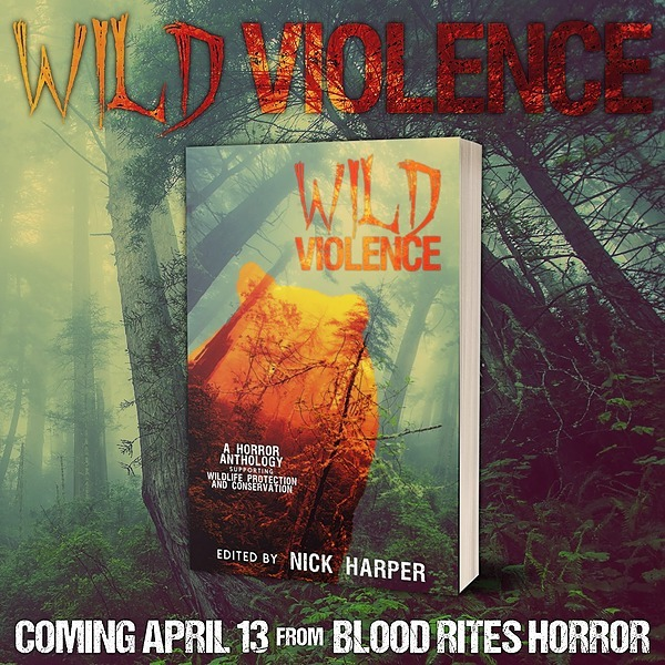 """@JDKAuthor Wild Violence, featuring my story, """"Krodha"""", Out Now Link Thumbnail 