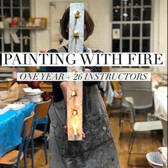 @CrystalMarie_artist Painting With Fire Link Thumbnail | Linktree
