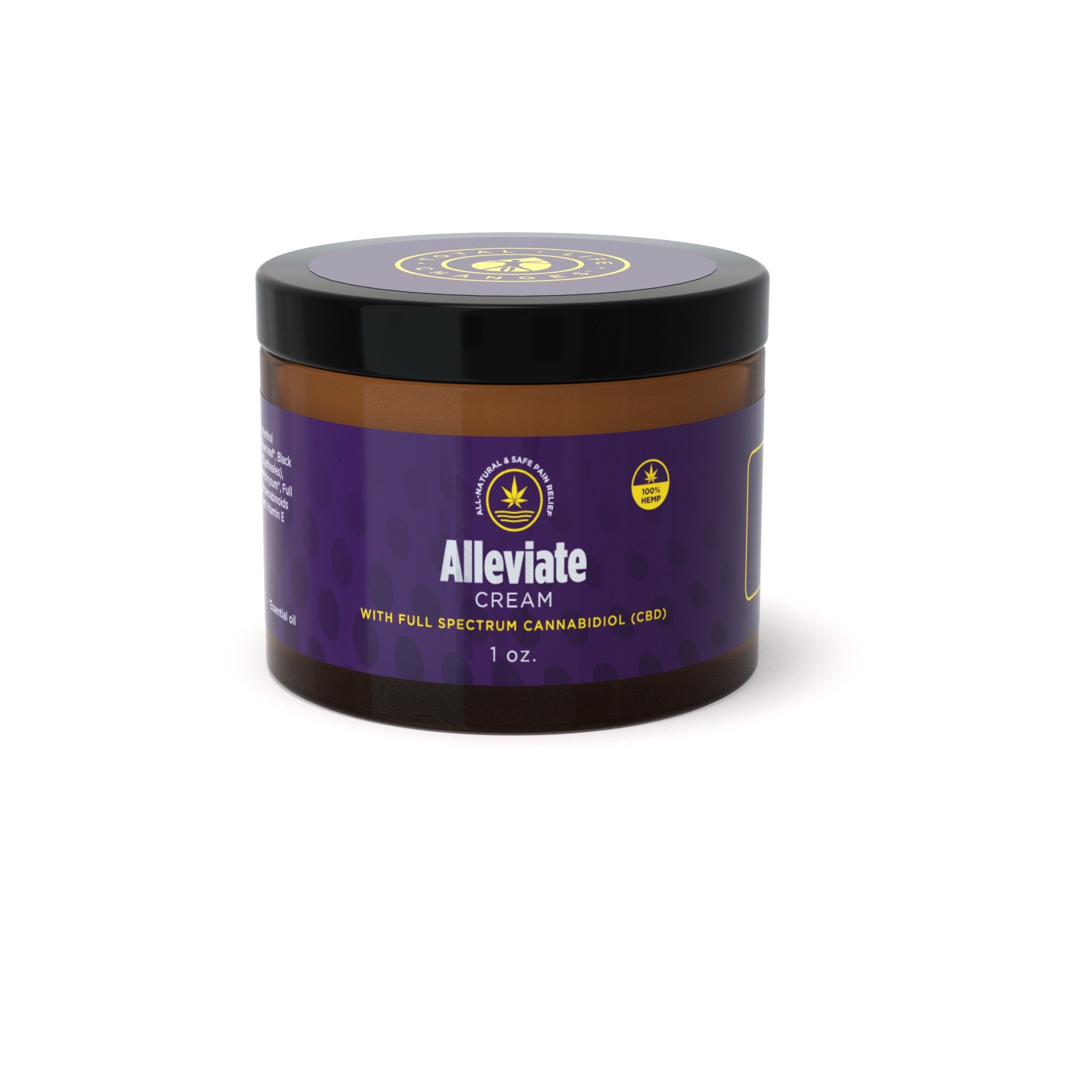 Alleviate Cream  Topical Pain Relief