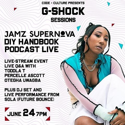 G-SHOCK: DIY Handbook PODCAST LIVE