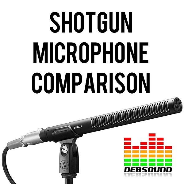 Shotgun microphone comparison