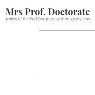 @kellytrivedy My Doctorate Blog Link Thumbnail | Linktree