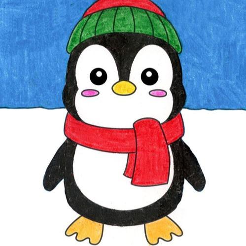 @artprojectsforkids Draw a Cute Penguin Link Thumbnail   Linktree