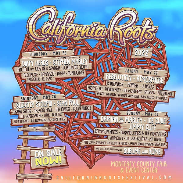 @Throughtheroots BUY NOW: Cali Roots Fest 2022 Link Thumbnail   Linktree