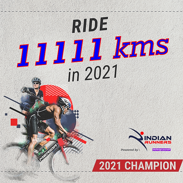 Ride 11111 Kms in 2021