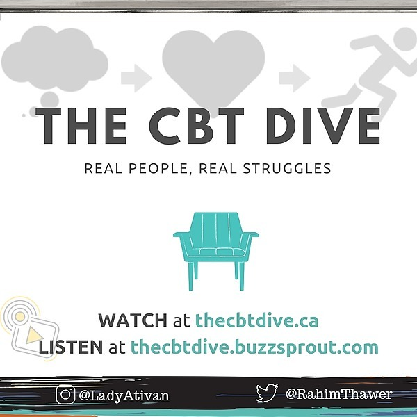 Rahim Thawer, MSW, RSW The CBT Dive - Podcast Link Thumbnail | Linktree