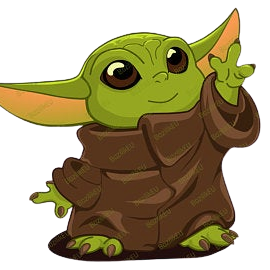Subtraction Facts - Baby Yoda Pixel Art