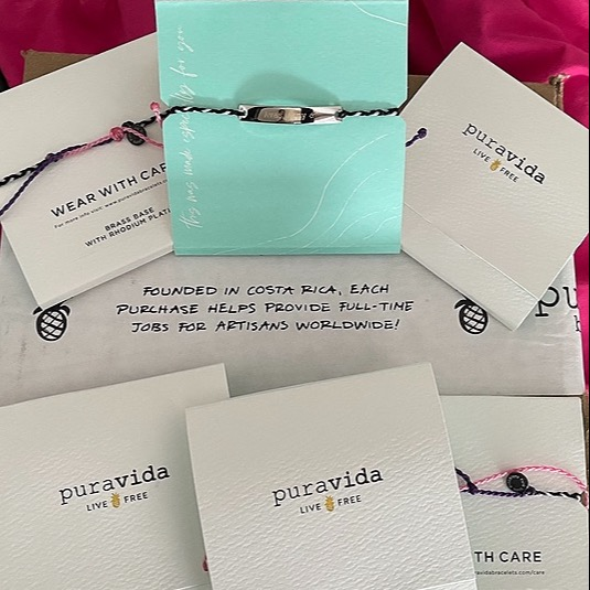 AvaBreeze Charity, limited edition, puravida bracelets for DHX-30 Link Thumbnail | Linktree
