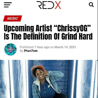 @ChrissyOG RedXMagazine Interview  Link Thumbnail   Linktree