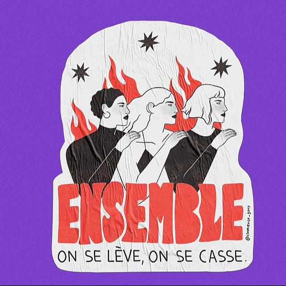 Affiches Libres - Marche Féministe