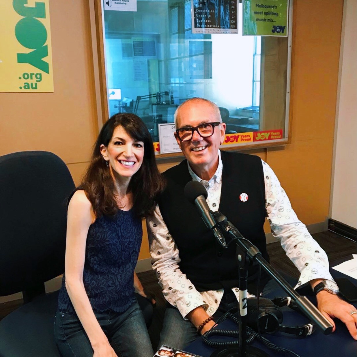 """@thesongtailors Ruth's interview on Joy 94.9FM about """"Together"""" Link Thumbnail 