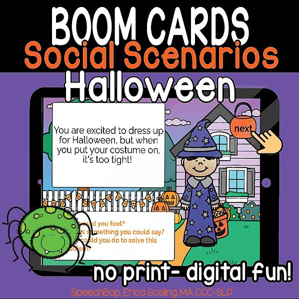 Halloween Social Scenarios