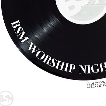 BSM Worship Night Registration & FREE Tickets