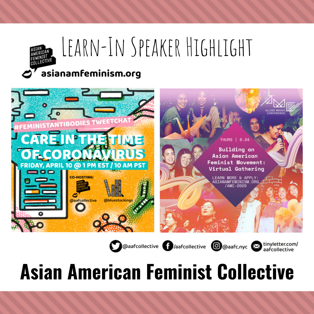 Learn-In Highlight: Asian American Feminist Collective