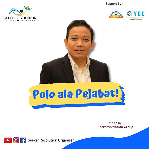 Seeker Revolution Paket Buku & Polo SRO untuk Prof. Indra Uno Link Thumbnail | Linktree