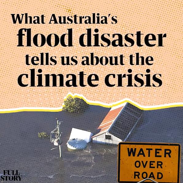 Podcast: what Australia's floods tells us about a climate crisis future