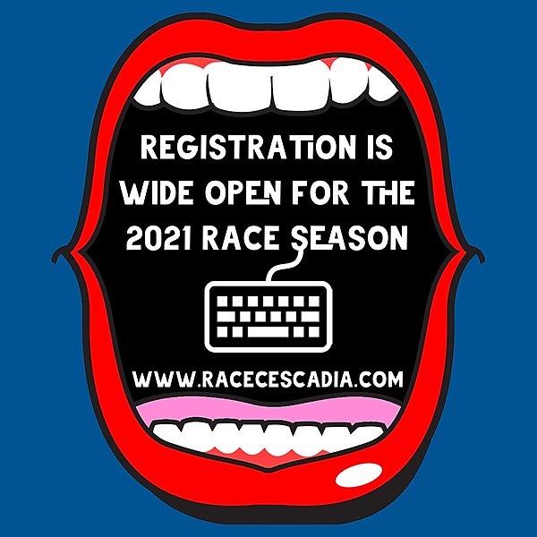 @racecascadia 2021 Season Registration is WIDE OPEN Link Thumbnail | Linktree