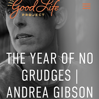 """www.AndreaGibson.com """"good life project"""" podcast Link Thumbnail 