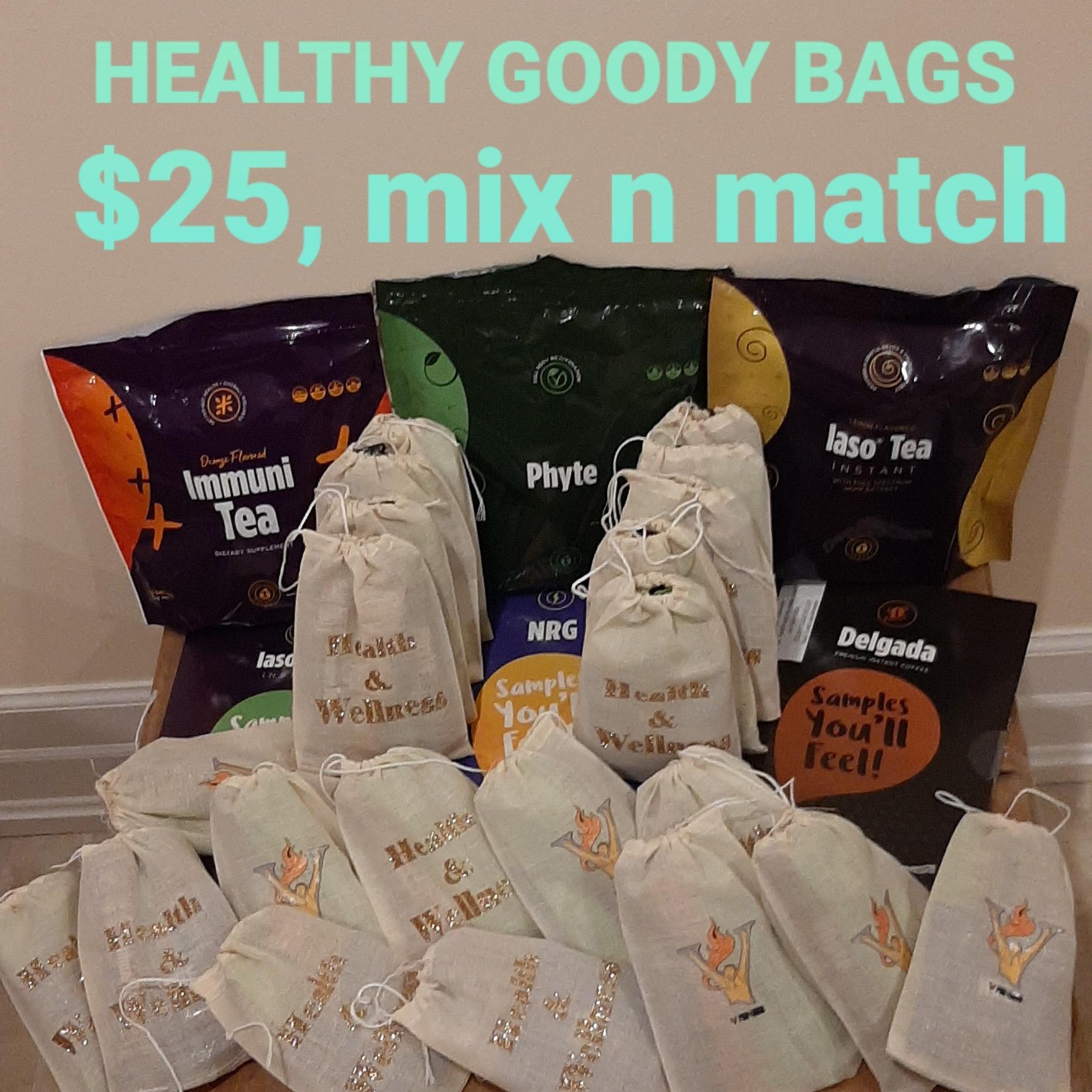 Sample goodie bag mix n match $25 - $35