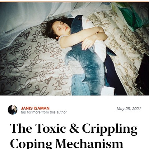 @JanisIsaman The Toxic & Crippling Coping Mechanism that arises from Childhood Trauma. Link Thumbnail   Linktree