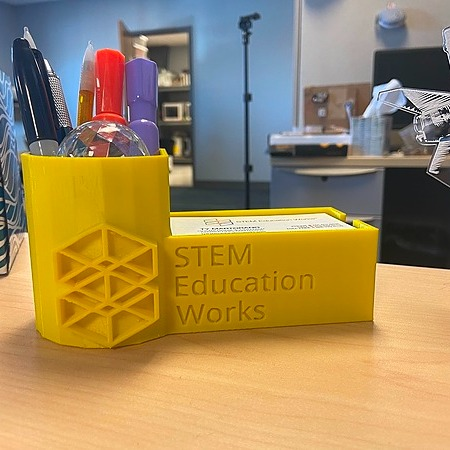 STEM Education Works 3D Printed Desk Organizer Link Thumbnail | Linktree