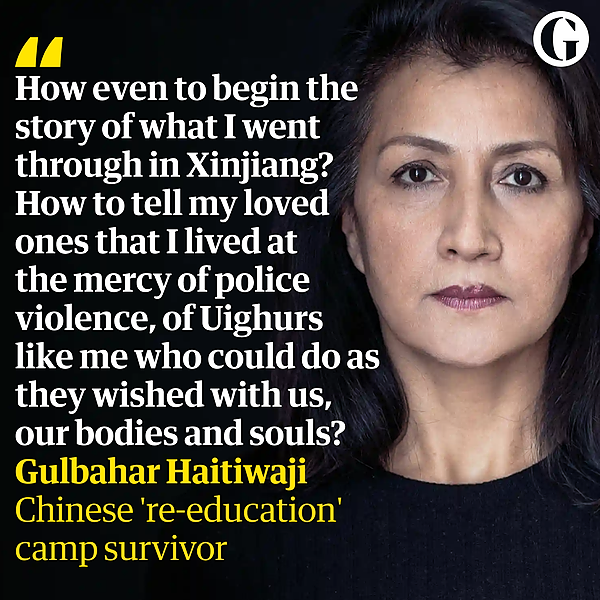 @guardian 'Our souls are dead': how I survived a Chinese 're-education' camp for Uighurs Link Thumbnail | Linktree