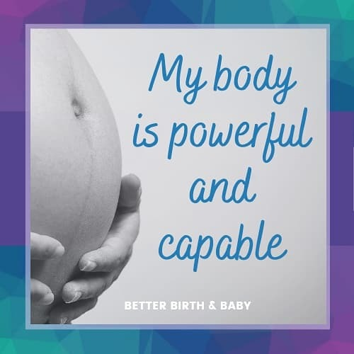 @BetterBirthandBaby New! Positive Birth Affirmations: 5-page Printable download, click here to buy now.   Link Thumbnail | Linktree