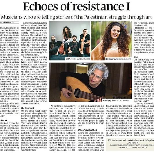@chrishazboun Echoes of Resistance Link Thumbnail | Linktree