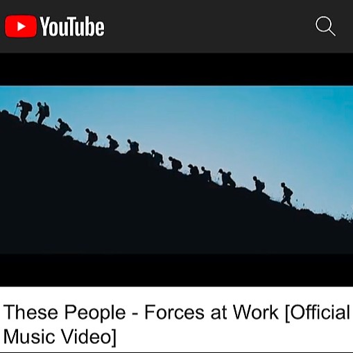 """THESE PEOPLE """"Forces at Work"""" Official Video Link Thumbnail 