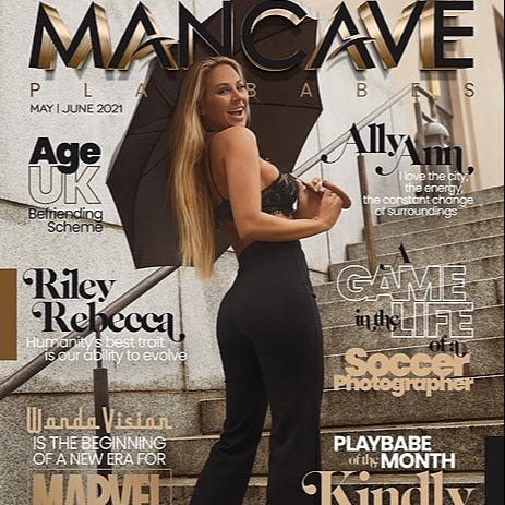 MANCAVE PLAYBABES - MAY/JUNE  2021