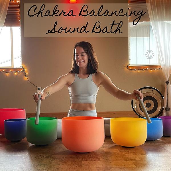 Clarissa Mae Chakra Balancing Sound Bath On-Demand Video Link Thumbnail | Linktree