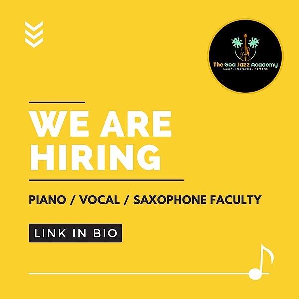 @goajazzacademy Piano Faculty Applications for GJA Link Thumbnail | Linktree