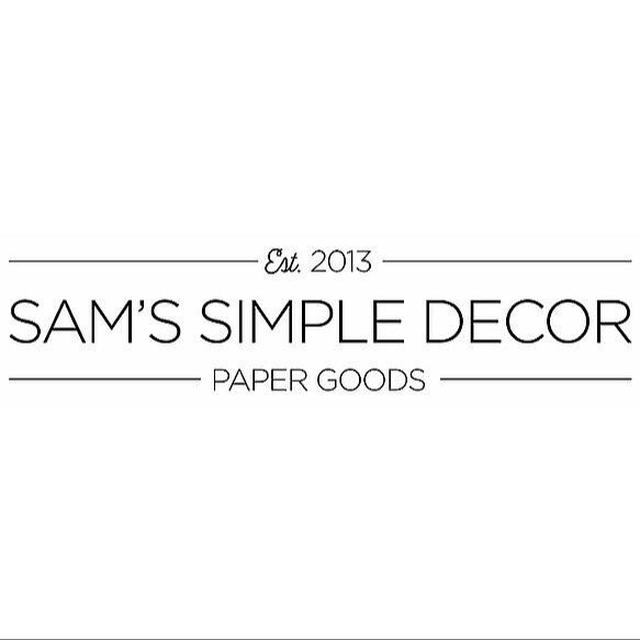Sam's Simple Decor