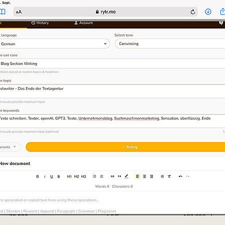 @netzversteher Das Ende der Textagenturen – Texte von der Künstlichen Intelligenz Link Thumbnail | Linktree
