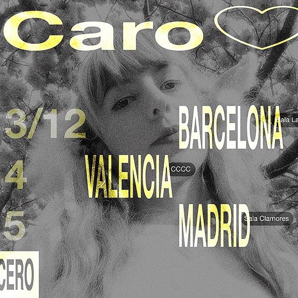 @cero.en.conducta Caro <3 + Cabiria + SUAVE en Barcelona (03.12, Sala Laut) Link Thumbnail | Linktree