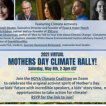 Join Harriet for a Mothers Day Rally (May 8th)