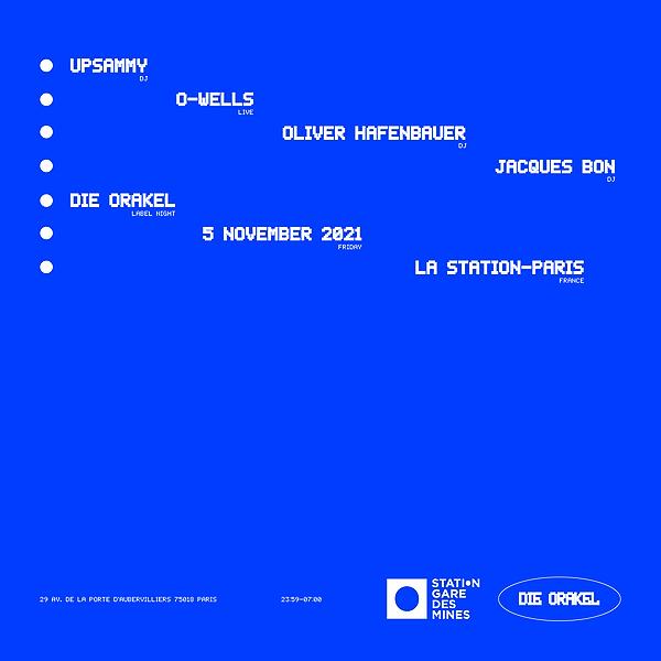 Die Orakel Presale: Die Orakel at La Station, Paris Link Thumbnail   Linktree