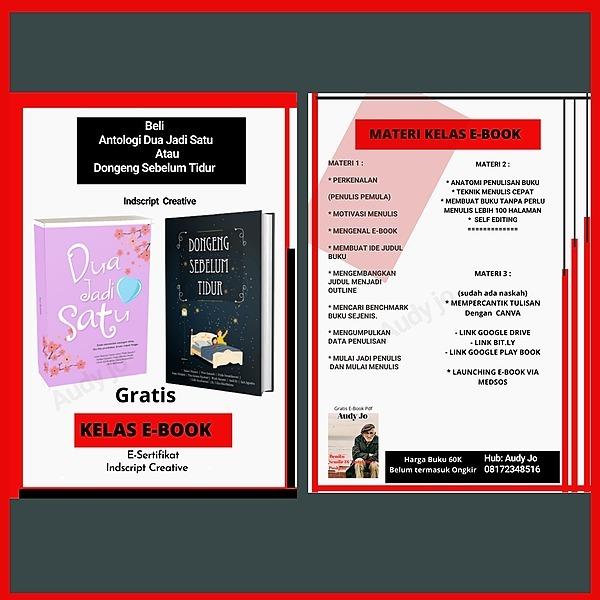 @audyjo DAFTAR KELAS E-BOOK Link Thumbnail | Linktree