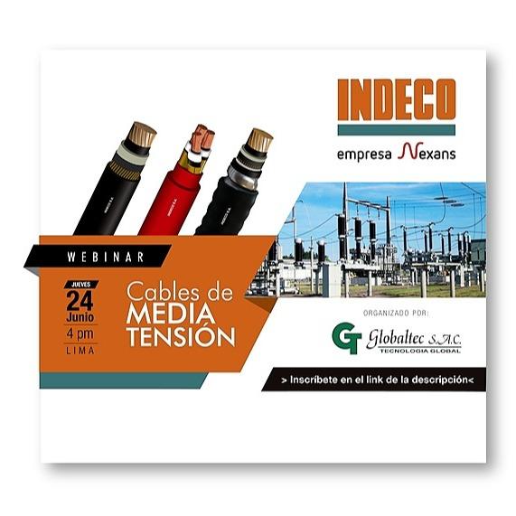 "Globaltec SAC WEBINAR: ""CABLES DE MEDIA TENSION"" - INDECO Link Thumbnail | Linktree"